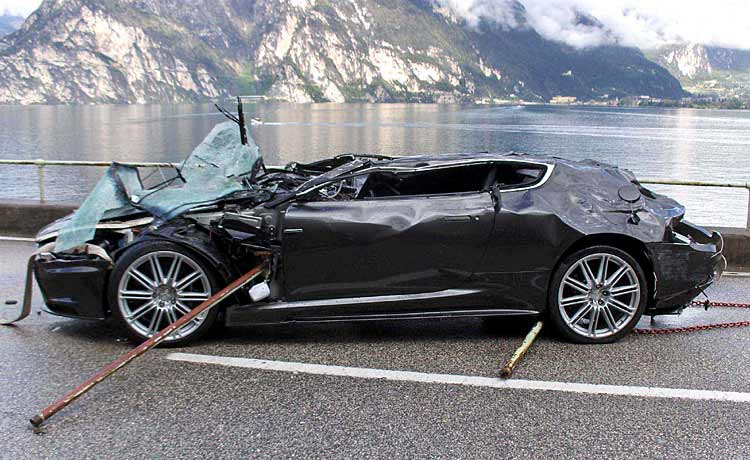 aston crash