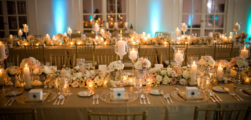 & Wedding table settings - Sirmione Wedding