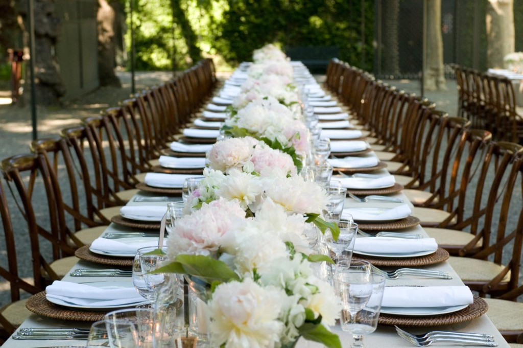 Firstly try to imagine how you would like the tables set up in the room would you prefer round tables or long rectangular. Then draw a plan of the room ... & Wedding table settings - Sirmione Wedding