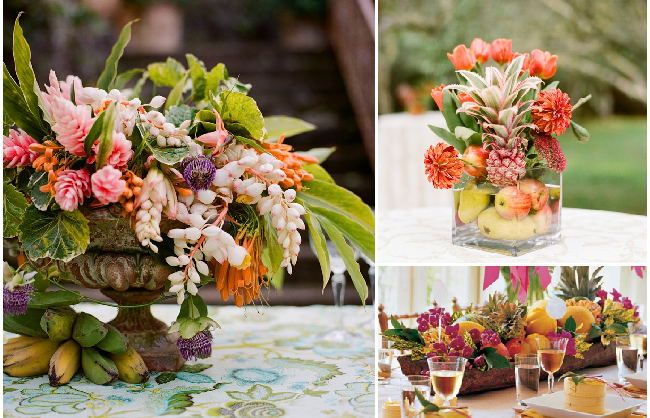 Ideas For The Tropical Themed Wedding: Colours, Ideas, Examples