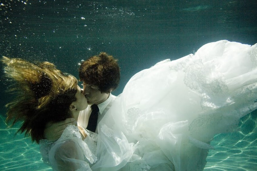 How long can we kiss under water?