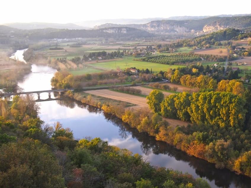 Domme, France Dordogne Valley