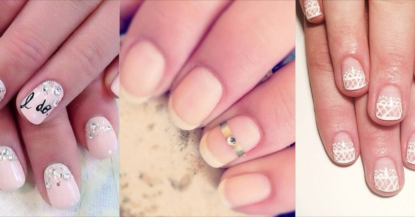 Bridal Nail Art - Sirmione Wedding