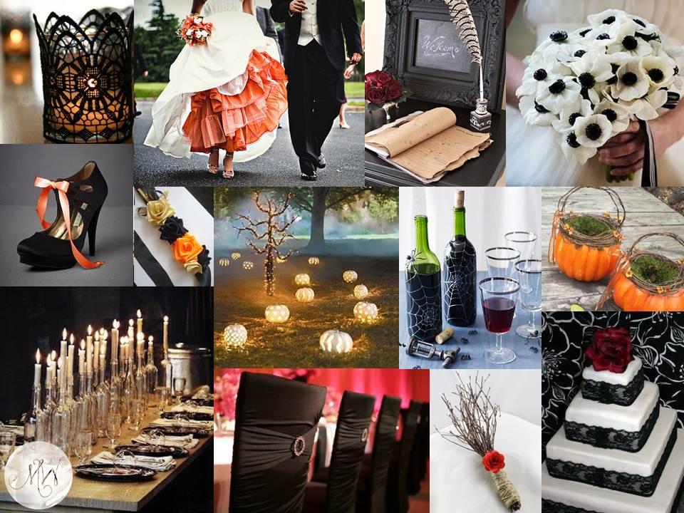 Spooky Halloween Wedding