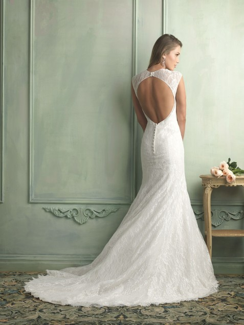 The Perfect Vera Wang Backless Model