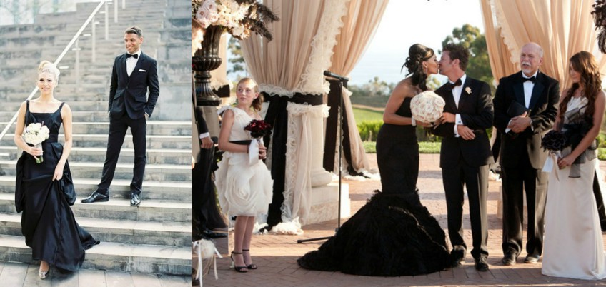 Many Of World Famous Designers Have Black Wedding Dresses In Their Collections Including Vera