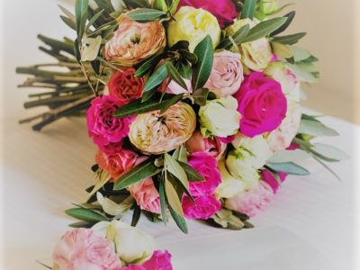 A classic floral theme with roses