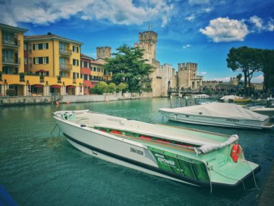 Picture of luxury boats destinated to tours