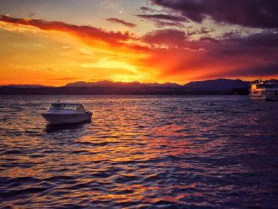 Sunset on the lake (tours)