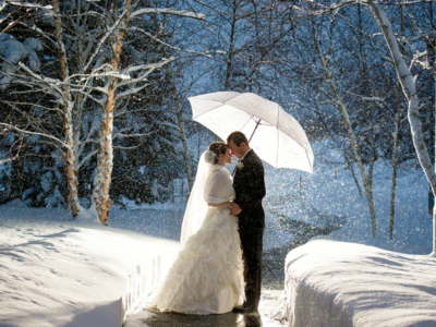 wedding winter picture