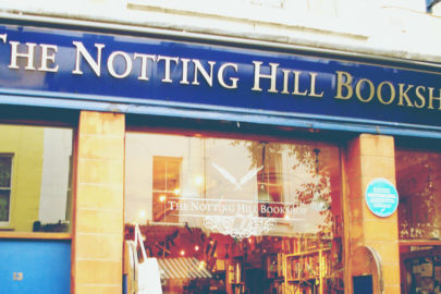 Notting Hill movie set